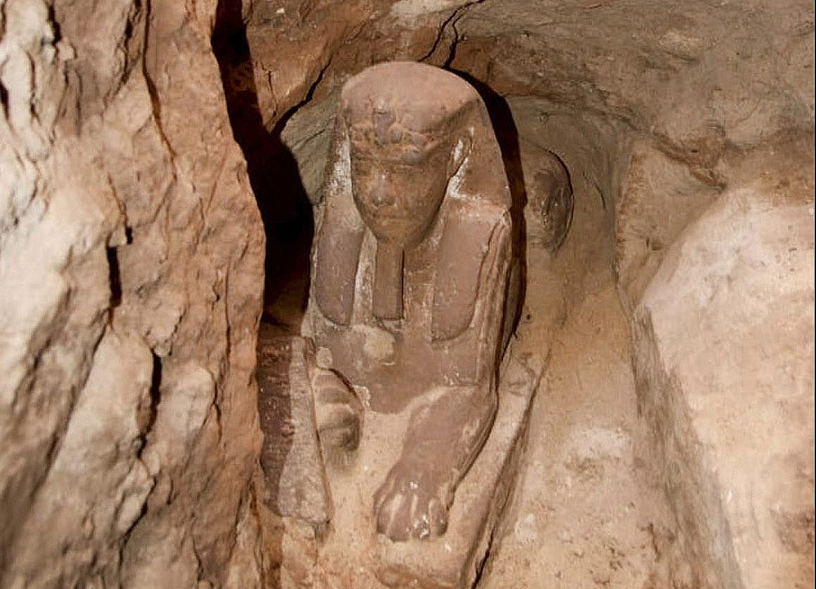 Ancient Sphinx discovered in Egypt, archaeologists reveal