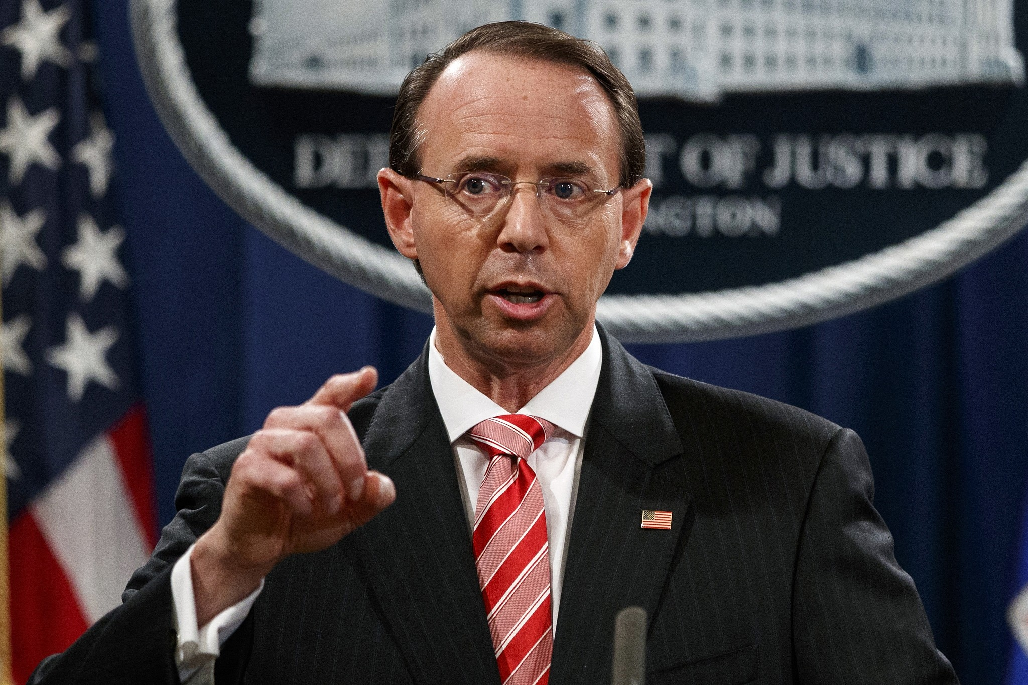 Image result for Rod Rosenstein, photos