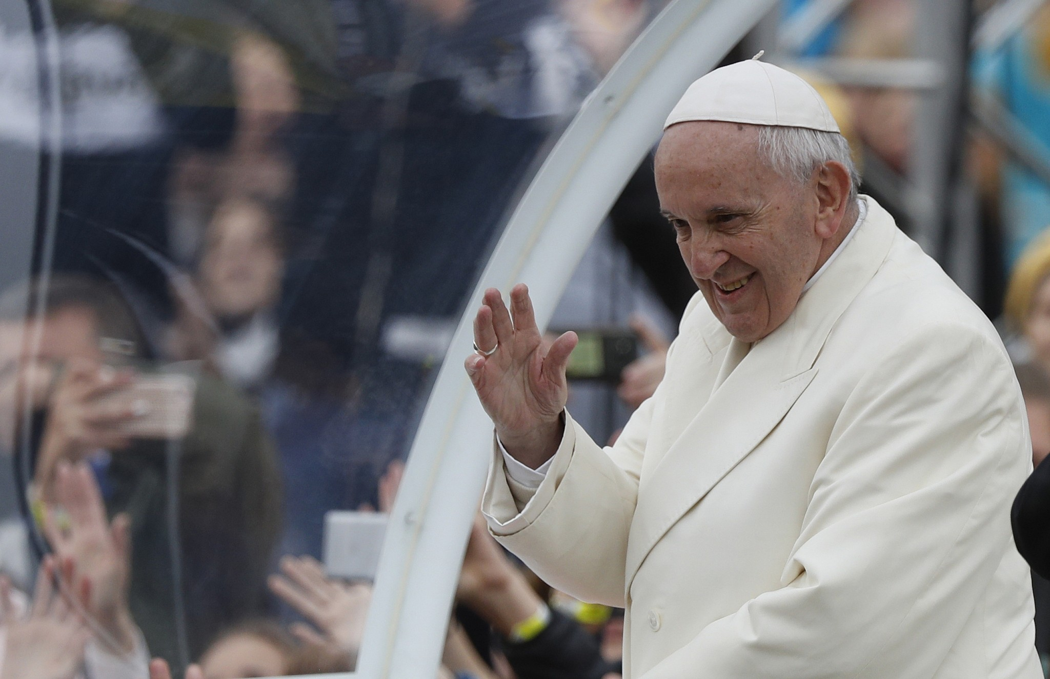 Pope Quips I Am The Devil Next To John Paul Ii The Times Of Israel