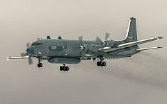 In this file photo taken on Saturday, March 4, 2017, the Russian Il-20 electronic intelligence plane of the Russian air force with the registration number RF 93610, which was accidentally downed by Syrian forces responding to an Israeli air strike, flies near Kubinka airport, outside Moscow, Russia. (AP Photo/Marina Lystseva)