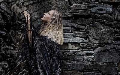 This cover image released by Columbia Records shows 'Walls' a new album by Barbra Streisand. (Russell James/Columbia Records via AP)