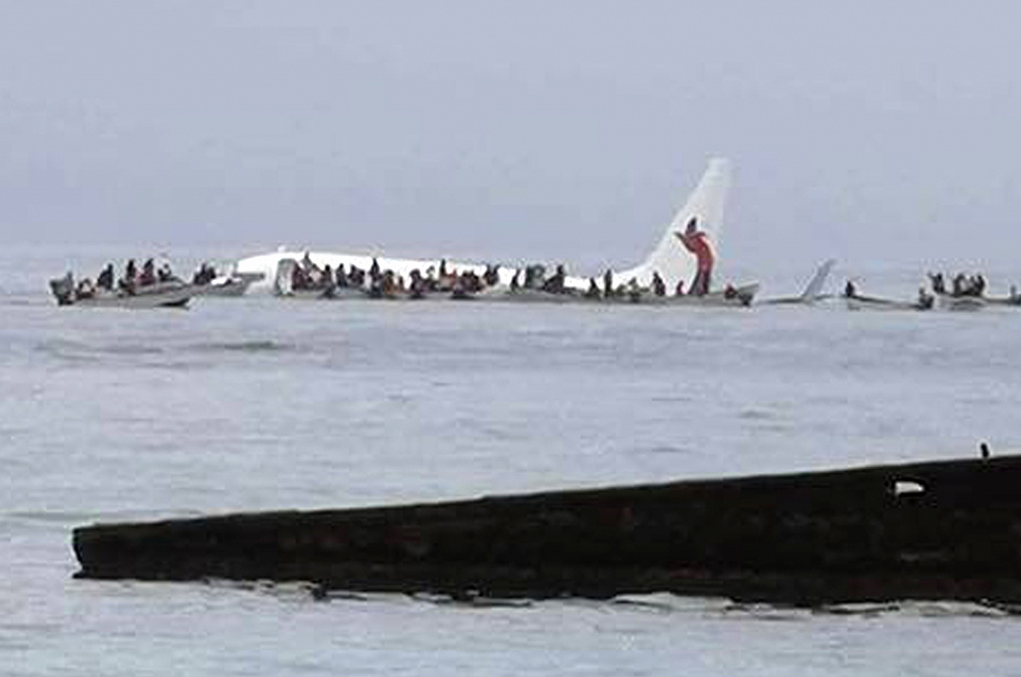 Passenger Plane Misses Runway, Crash-Lands in Ocean