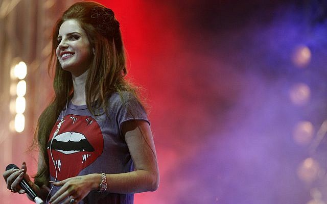 Singer Lana Del Rey performs at the Isle of Wight festival on June 22, 2012 southern England. (AP Photo/Jim Ross)