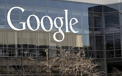 This photo from January 3, 2013, shows Google's headquarters in Mountain View, California. (AP Photo/Marcio Jose Sanchez, File)
