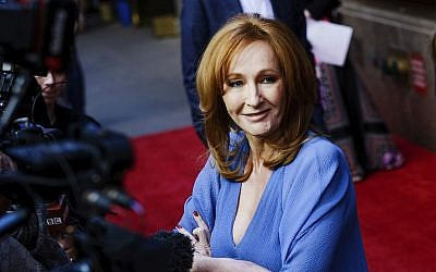 """Author J.K. Rowling attends the """"Harry Potter and the Cursed Child"""" Broadway opening at the Lyric Theatre on Sunday, April 22, 2018, in New York. (Evan Agostini/Invision/AP)"""