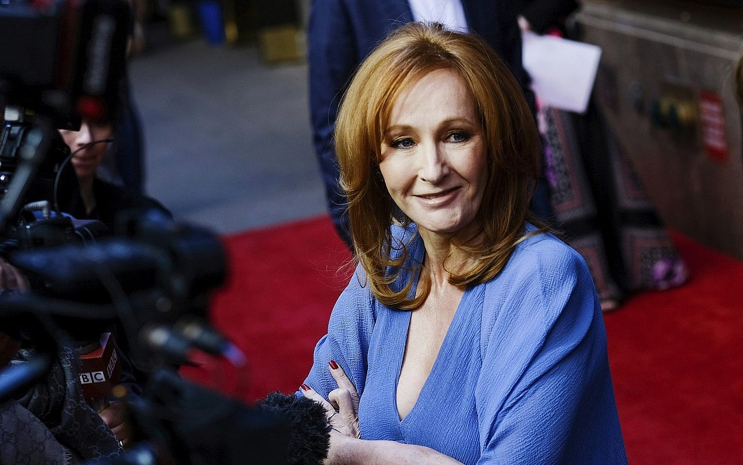 In jk rowlings new novel a villain is an israel hating anti author jk rowling attends the harry potter and the cursed child broadway opening at m4hsunfo