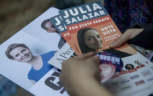 Democratic socialist Salazar wins primary