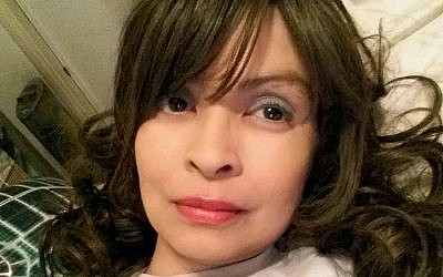 This undated self-portrait posted on Instagram shows actress Vanessa Marquez (Vanessa Marquez via AP)