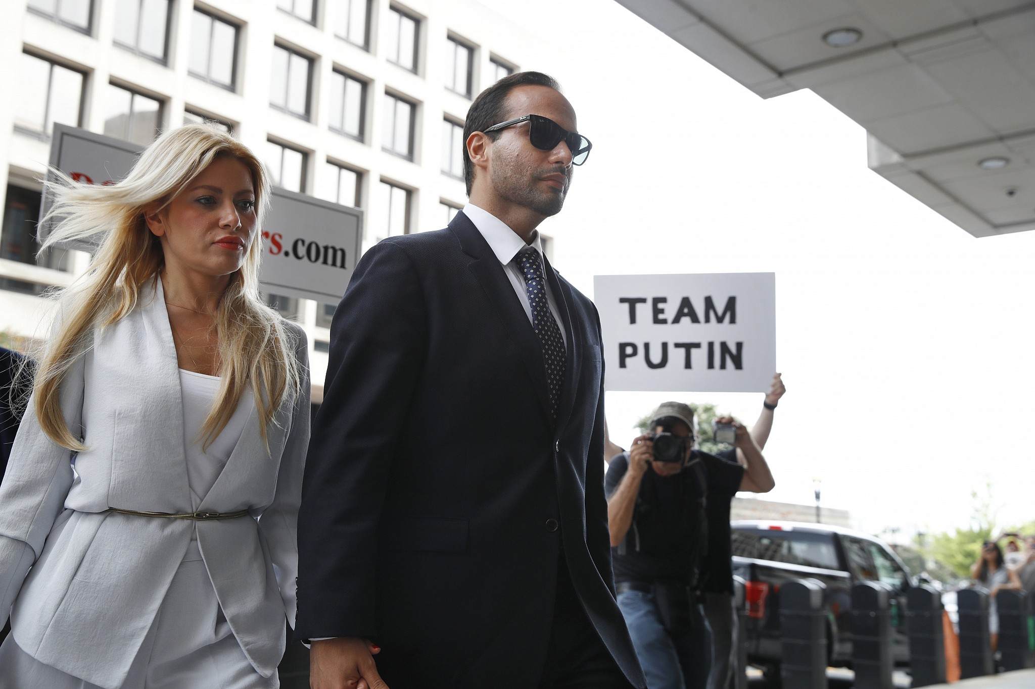 Trump's former adviser George Papadopoulos handed 14-day jail term