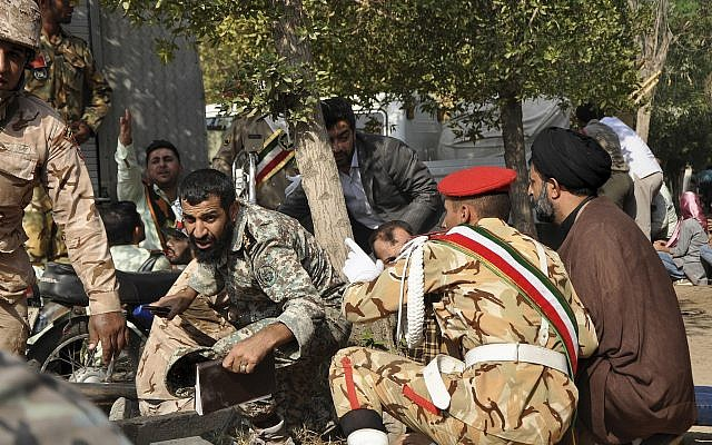 Iran blames Arab separatists, United States for deadly attack