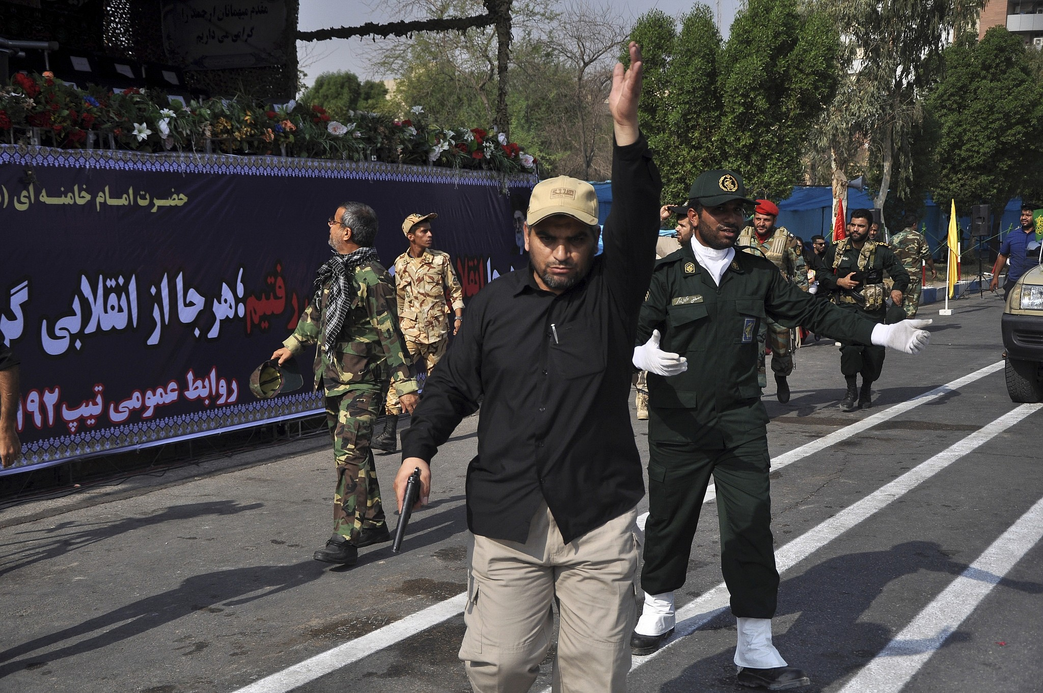 Terror Attack on Iran Military Parade Kills at Least 29, Officials Say