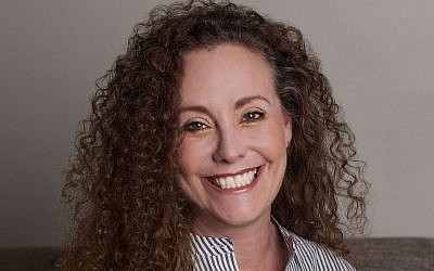 Julie Swetnick in a photo provided by her lawyer, Michael Avenatti, on Twitter. (Michael Avenatti/Twitter via JTA)