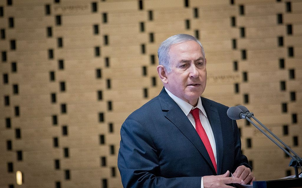 Netanyahu signals Israel won't curb activities against Iran | The Times of Israel