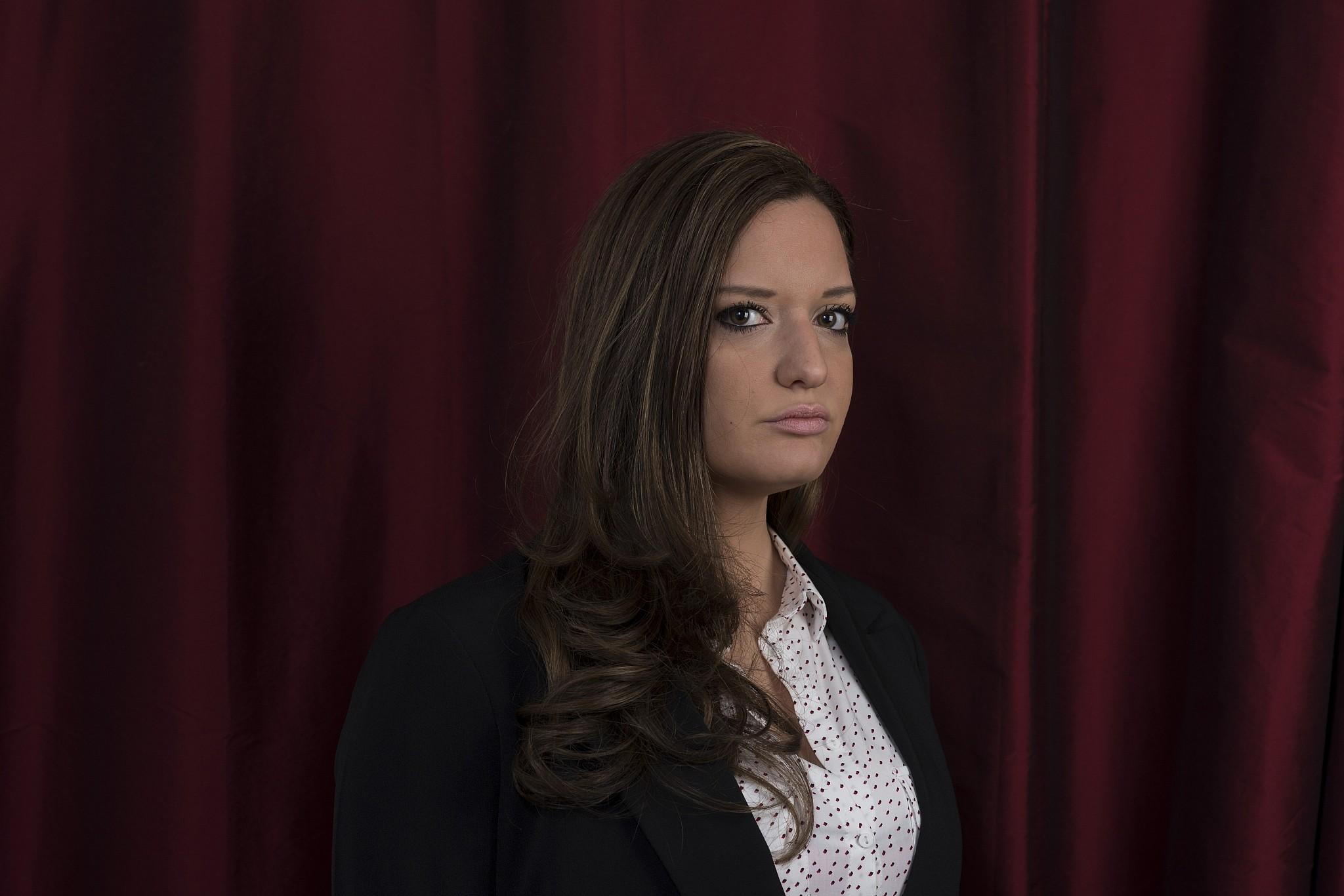 French journalist Noémie Halioua, author of 'L'affaire Sarah Halimi' (Hannah Assouline/Editions du Cerf)