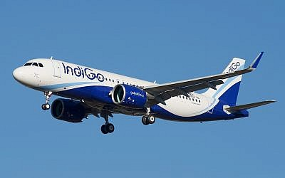 Illustrative: An IndiGo airline Airbus A320. (Wikipedia/BriYYZ/CC BY-SA)