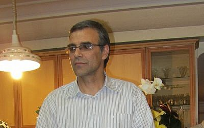 Reza Khandan, husband of Iranian human rights activist, on November 18, 2012. (CC BY-SA Hosseinronaghi, Wikimedia Commons)