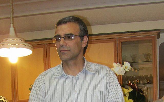 Reza Khandan, husband of Iranian human rights activist, on November 18, 2012. (CC BY-SA Hosseinronaghi, Wikimedia Commons)