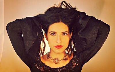 Noam Vazana wrote her upcoming album 'Andalusian Brew' in Ladino. (Asaf Lewkowitz/via JTA)