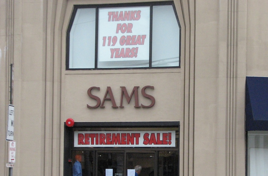 f25909a9 Sam's Fine Men's Clothing, an institution in Livingston, New Jersey., with  roots dating back to at least 1899 in Newark, will go out of business at  the end ...