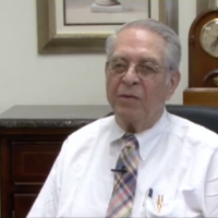 Former IRS commissioner Sheldon Cohen. (YouTube screenshot via JTA)