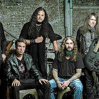 Sons of Apollo (l-r Billy Sheehan,  Derek Sherinian, Jeff Scott Soto, Mike Portnoy and Ron 'Bumblefoot' Thal) will perform in Tel Aviv on September 26, 2018. (Northern Music)