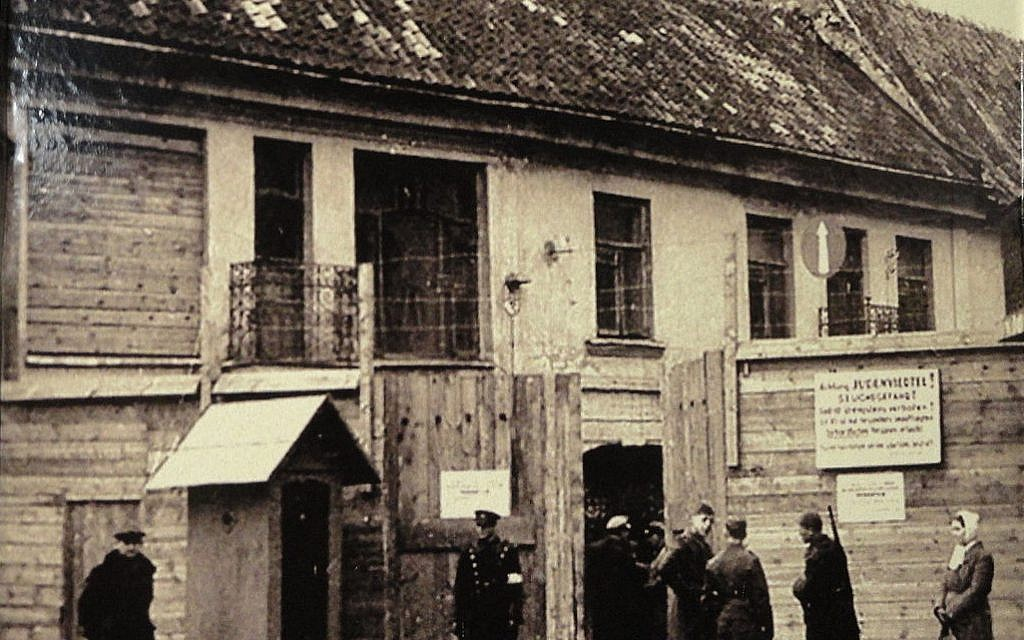 Main entrance to the Ghetto of Vilnius in Lithuania, during WWII (Wikimedia Commons/public domain)