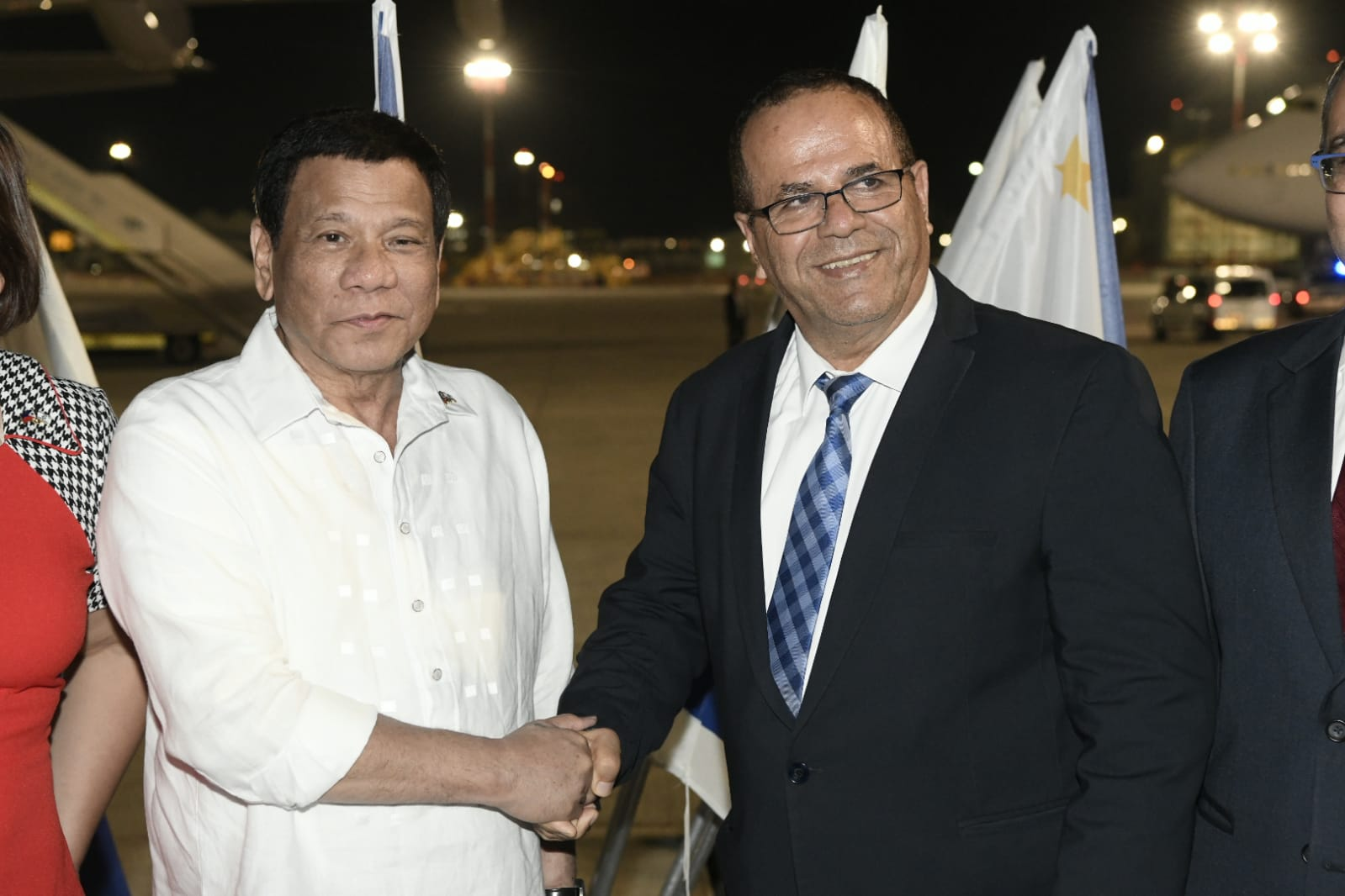 Philippines Strongman Duterte Touches Down In Israel For 3 Day Visit