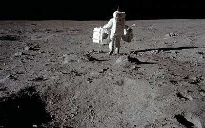 Mission Commander Neil Armstrong documented the lunar mission and snapped this image of Lunar Module Pilot Buzz Aldrin at Tranquility Base, July 20, 1969. (NASA)