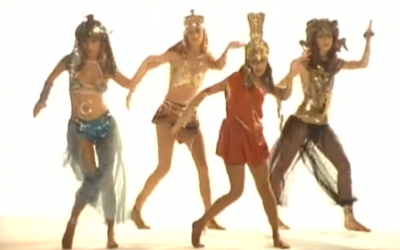 The Bangles' 'Walk Like an Egyptian' (Screenshot via YouTube)