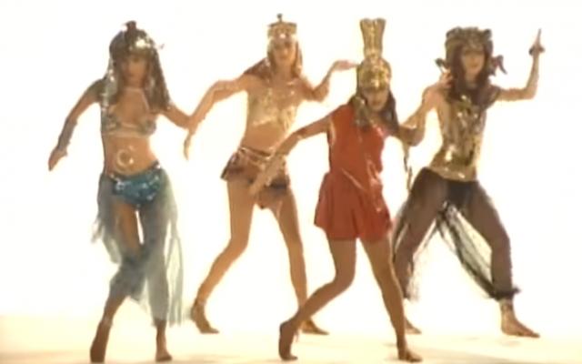 The Bangles' 'Walk Like an Egyptian' (Screenshot via YouTube)