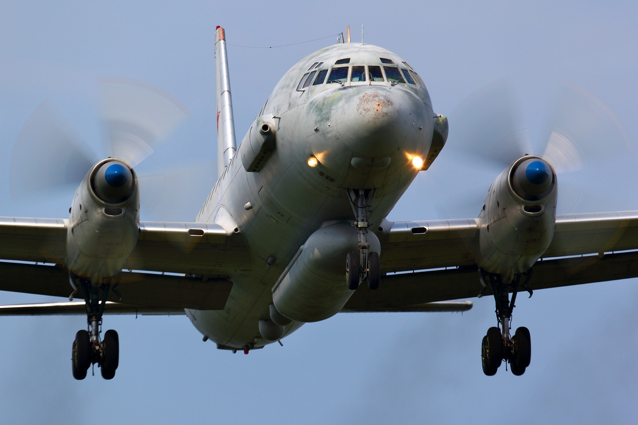 The military mistakenly shot down the plane 23