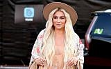 Recording artist Kesha attends the 2018 Billboard Music Awards at MGM Grand Garden Arena on May 20, 2018 in Las Vegas, Nevada.  (Matt Winkelmeyer/Getty Images for dcp via JTA)