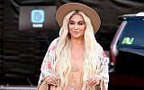 Recording artist Kesha attends the 2018 Billboard Music Awards at MGM Grand Garden Arena on May 20, 2018 in Las Vegas, Nevada.  (Matt Winkelmeyer/Getty Images for dcp via JTA)