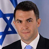 Prime Minister Benjamin Netanyahu's spokesman David Keyes (Facebook)