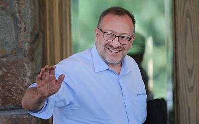 Seth Klarman in Sun Valley, California, July 8, 2014. (Scott Olson/Getty Images via JTA)