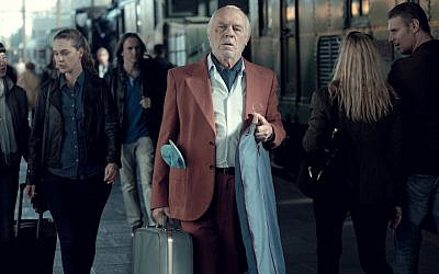 Manuel Angel Sola appears in a scene from 'The Last Suit.' (Outsider Pictures/via JTA)