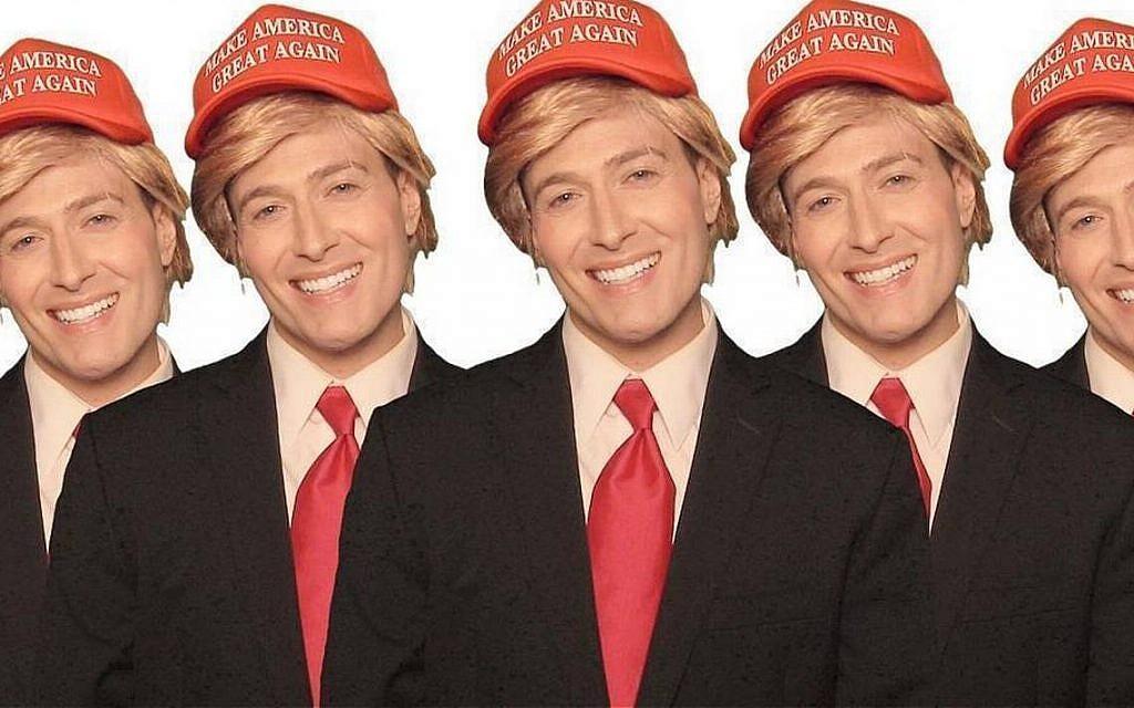 Popular satirist Randy Rainbow takes on Donald Trump. (courtesy)