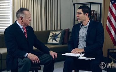 Roy Moore is interviewed by Sacha Baron-Cohen on 'Who is America.' (YouTube screenshot)