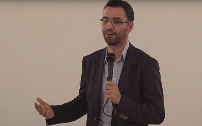 Aziz Abu Sarah, would-be Jerusalem mayoral candidate  (YouTube screenshot)