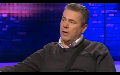 Mark Serwotka, head of the UK's Public and Commercial Services Union (PCS) in 2016. (Screen capture: YouTube)