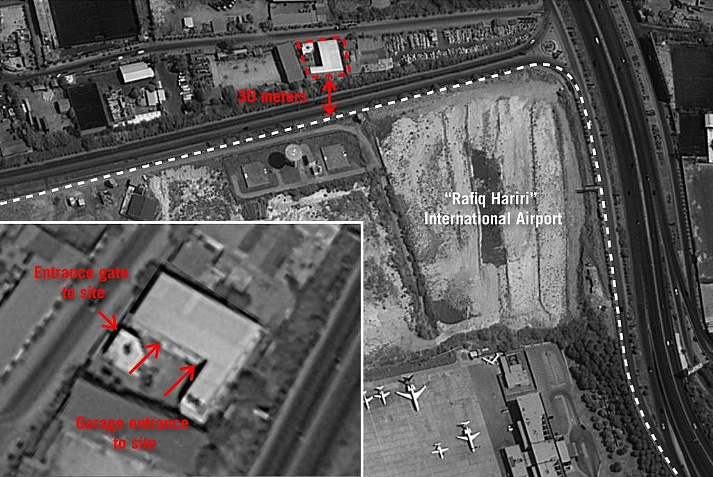 IDF releases photos of alleged Hezbollah missile sites near