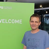 Prof. Gal Chechick will head Nvidia's new research center in Tel Aviv that will focus on artificial intelligence (Courtesy)