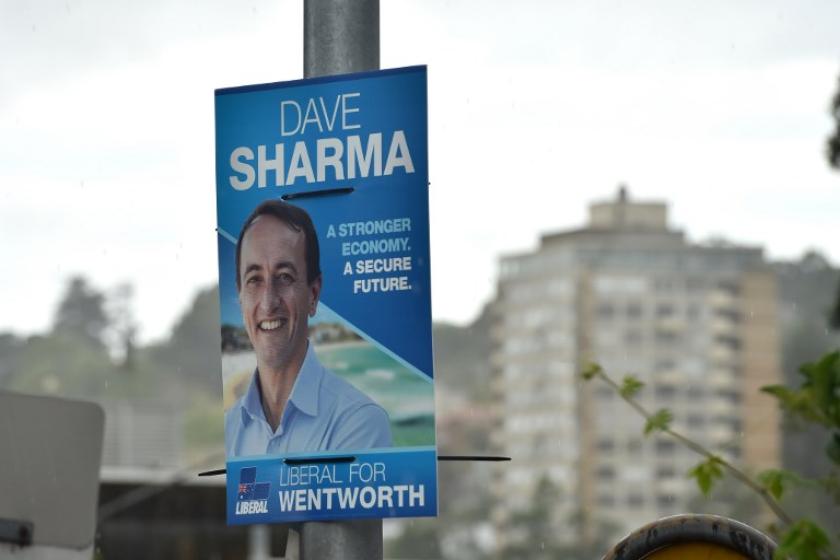 The Wentworth by-election vote is suddenly neck-and-neck