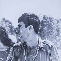 Air Force navigator Ron Arad, who went missing in 1986, in his flight suit. (Israeli Air Force)