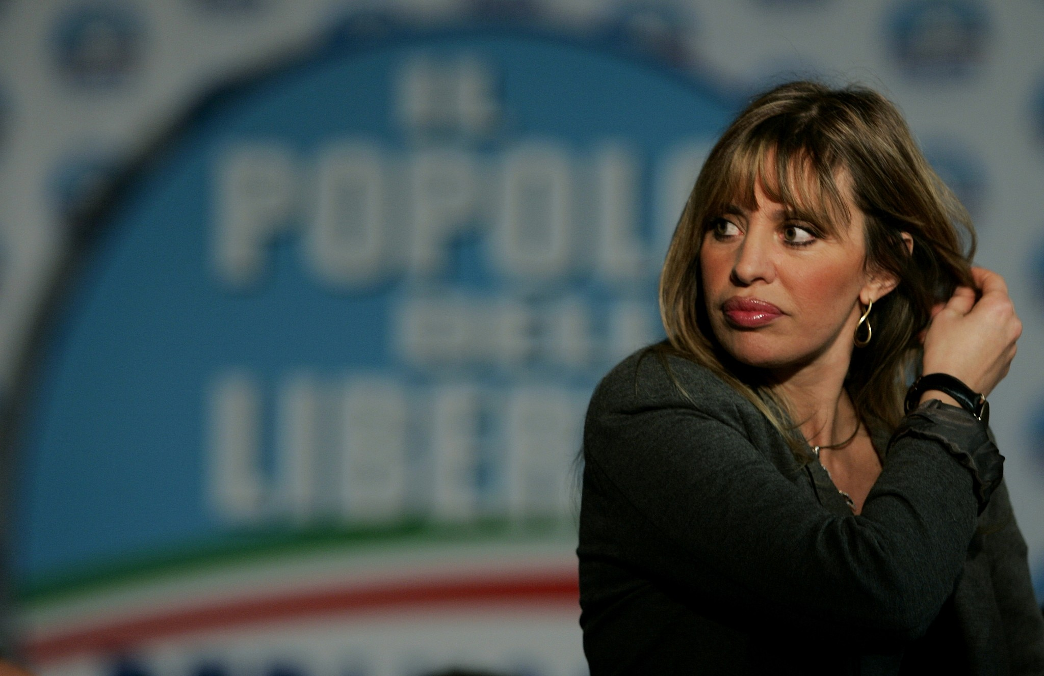 foto Alessandra Mussolini