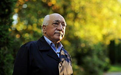 Turkish Islamic preacher Fethullah Gulen is pictured at his residence in Saylorsburg, Pennsylvania, September 24, 2013. (AP Photo/Selahattin Sevi, File)