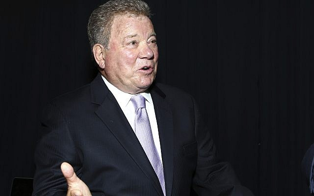 William Shatner attends night one of the Television Academy's 2018 Creative Arts Emmy Awards at the Microsoft Theater on Saturday, Sept. 8, 2018, in Los Angeles. (Photo by John Salangsang/Invision/AP)