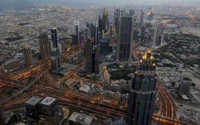 View of Dubai, United Arab Emirates, September 29, 2018. (Aijaz Rahi/AP)