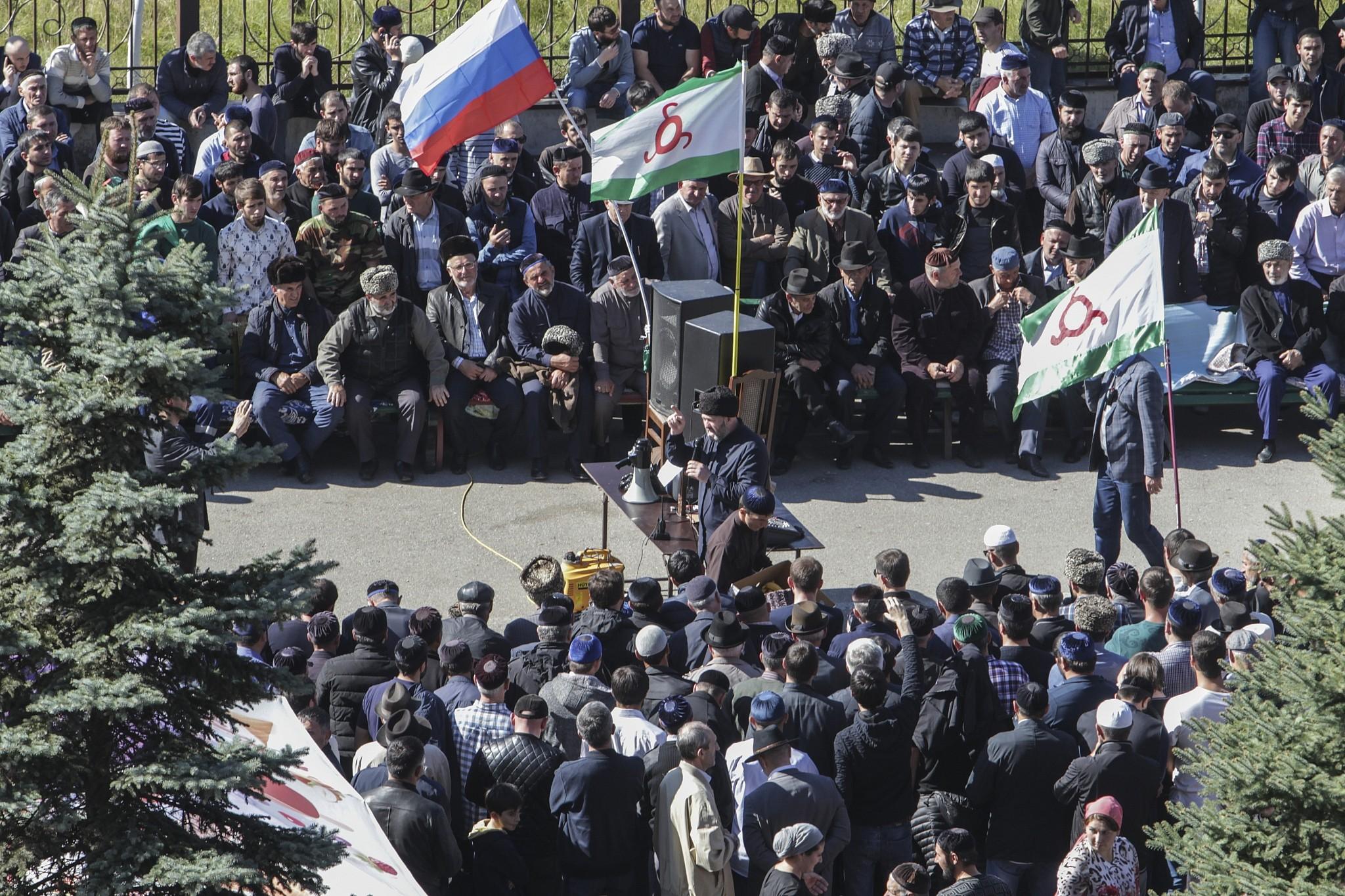 What is happening in Ingushetia now? 20