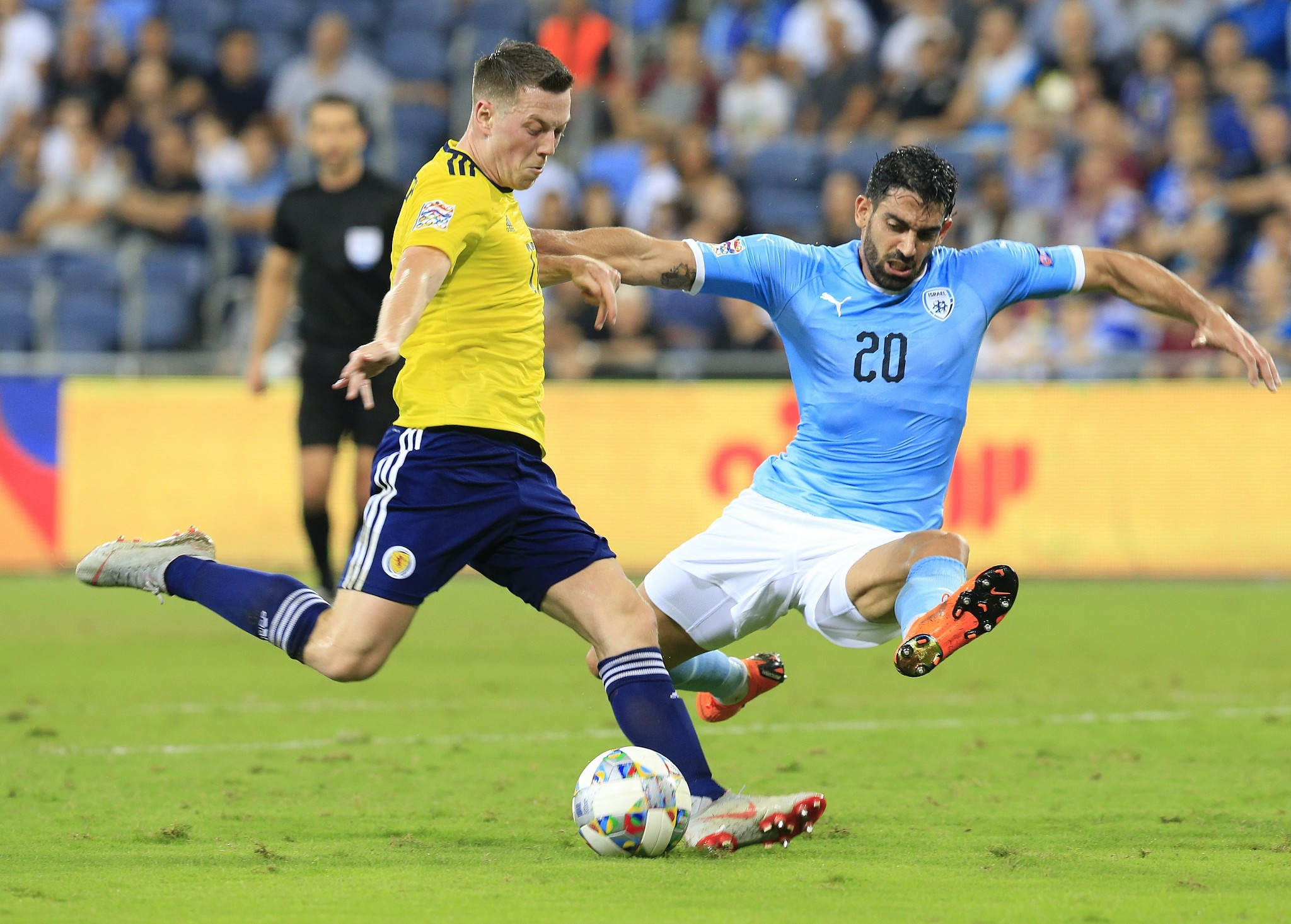 Scotland To Host Israel In Euro 2020 Soccer Play Off The Times Of Israel